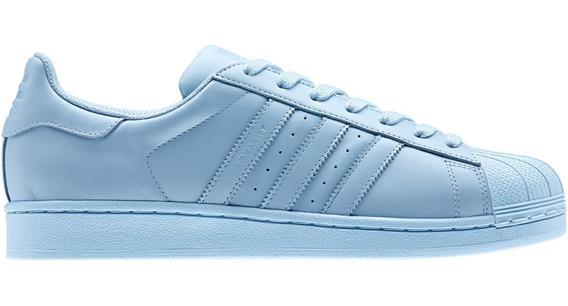 Zapatillas Importadas Superstar Equality Blue