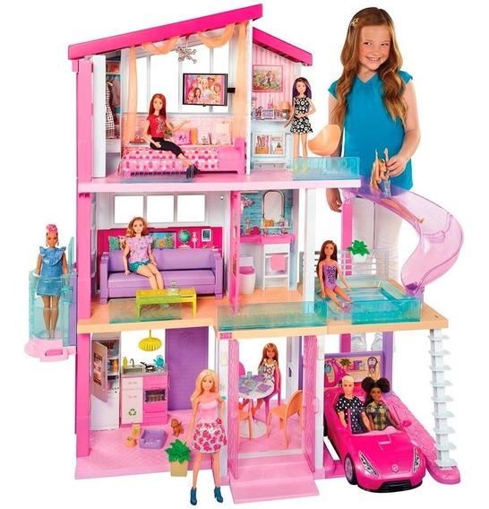Casa Da Barbie Dos Sonhos 76 Cm Com 3 Andares Ffy73 Mattel