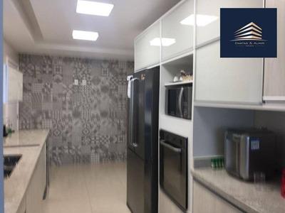 Apartamento No Condmínio Helbor Classic, 168m², Reformado Aceita Permuta Tatuapé. - Ap0624
