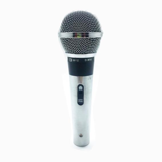 Microfone Dinâmico Wireless Unidirecional D-m56