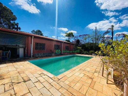 Chácara Com 3 Dormitórios À Venda, 4885 M² Por R$ 505.000,00 - Tijuco Preto - Cotia/sp - Ch0198