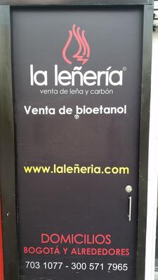 Distribuidora La Leñería, Venta De Leña, Carbón Y Bioetanol.