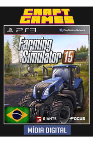 Farming Simulator 15 Ps3 Psn Digital Game Pt-br
