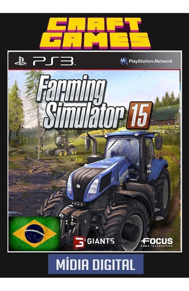 Farming Simulator 15 Ps3 Psn Digital Game Pt-br