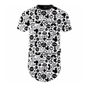 Camiseta Longline Digital Mickey Vcstilo