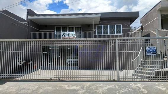 Casa Residencial Para Venda E Locação, Centro, Ponta Grossa. - Ca0022