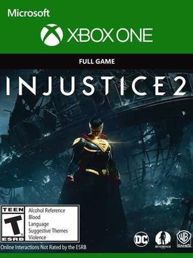 Injustice 2 Xbox One Codigo 25 Digitos Br Dccomics