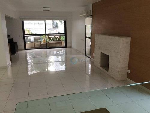 Apartamento Com 3 Dormitórios À Venda, 198 M² Por R$ 1.200.000,00 - Vila Andrade - São Paulo/sp - Ap1128