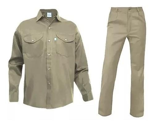 Ropa De Trabajo Ombú Pantalón + Camisa !! Conjunto Original