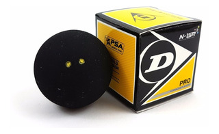 Dagos Caja De Pelotas De Squash Dunlop Doble Punto Amarillo