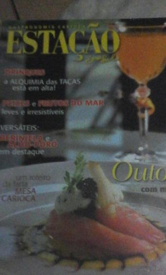Revista Gastronomia Carioca Estação Zona Sul N 57 2013