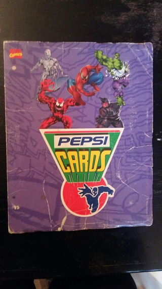 Colección Pepsi Cards 94 Marvel