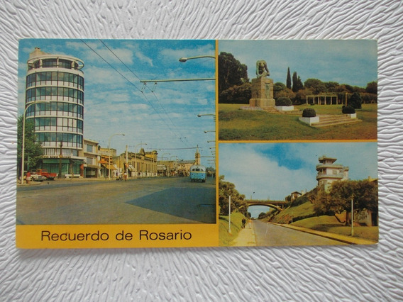 8986- Postal Rosario, Santa Fe/ Tacuara Edicolor 2969/1