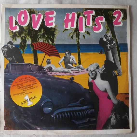 Lp Love Hits 2 Rádio Antena 1, Disco De Vinil 1984, Raro