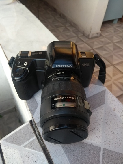 Camera Analógica Pentax Z10 - Colecionador - Made In Japan