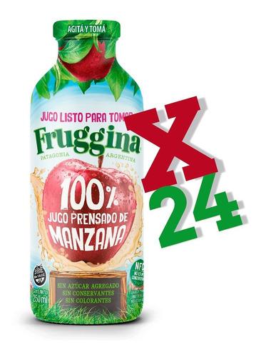 Jugo Listo Para Tomar Fruggina Manzana Pack X 24