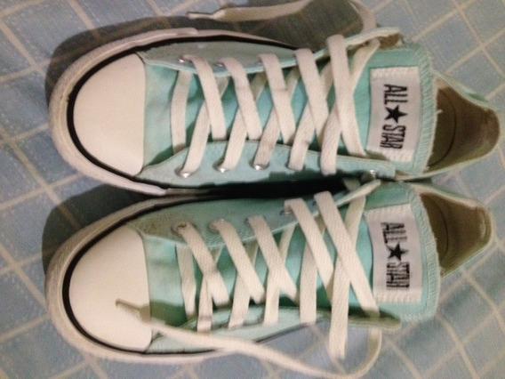 Zapatos De Lona Converse All Star, Numero 6, Usados