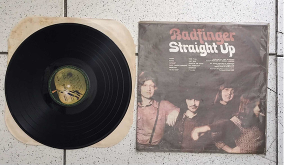 Lp The Beatles Badfiger Straight Up 1972