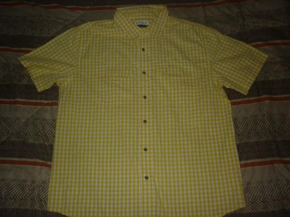 E Camisa Magellan Outdoor Cuadrille Talle L Art 62788