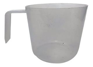 Vaso Precipitado Medidor De Plástico De 250ml Para Barniz.