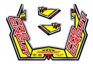 Adesivo Escape T4 Pro Circuit Crf 230