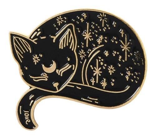 Prendedor Broche O Pin Esmaltado De Gatita Luna Sailor Moon
