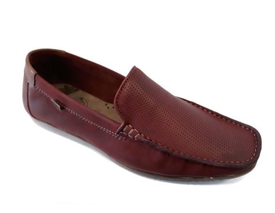 Zapato Hombre Nautico Freeway Cuero 100% Verano 2020