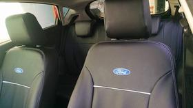 Capa Bancos De Couro Automotivos P/ New Fiesta Hatch S 2014