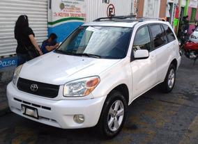 Camioneta Toyota Rav4 Limited Piel 05 Blanco Perla 5 Puertas