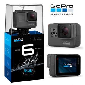 Gopro Black Hero 6 + Micro Sd 64 Gb + Caixa Estanque