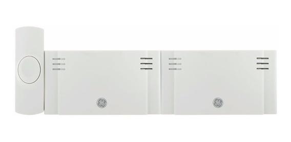 Kit De Campainha Sem Fio General Electric Com 2 Sons 38953