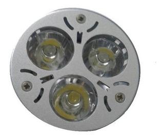 Dicroica Led 3 Watt Balnco Frio Gu10 220v Spot Embutir Dicro