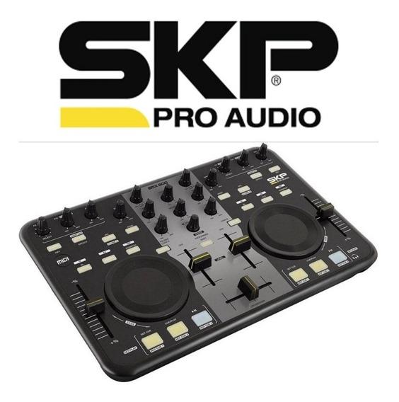 Controladora Skp Pro Audio Workstation Dj Smx 800 Mixer