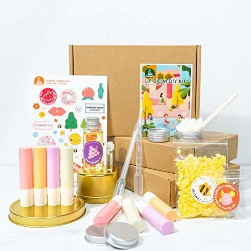 Imagen 1 de 2 de Bricolaje Kit De Fabricacion De Balsamo Labial 78 Piezas Con