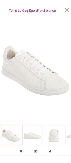 Tenis Le Coq Sportif Piel Blancos