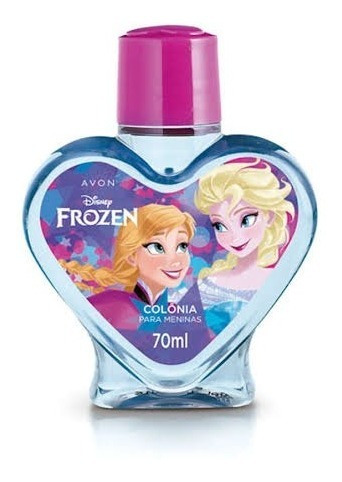 Perfume Frozen Colônia Par Menina 70ml