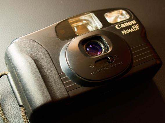 Câmera ( Revisada ) Fotográfica Analógica Canon Prima Bf