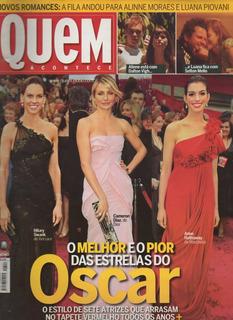 Revista Quem - 390-fev/08 - Oscar Cameron Diaz Anne Hathaway