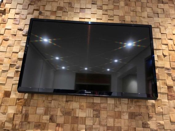 Smart Tv Led Philips 42 Polegadas Nova S/ Detalhes Ou Riscos