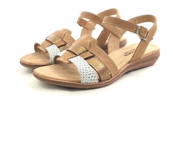 Encore 2074 Sandalia Cuero El Mercado De Zapatos!!