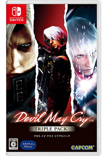 Devil May Cry Triple Pack Nintendo Switch
