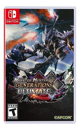 Monster Hunter Generations Ultimate Edition Nuevo