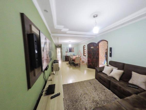 Maravihoso Sobrado Com 3 Dormitórios À Venda, 123 M² Por R$ 510.000 - Itaquera - São Paulo/sp - So2767
