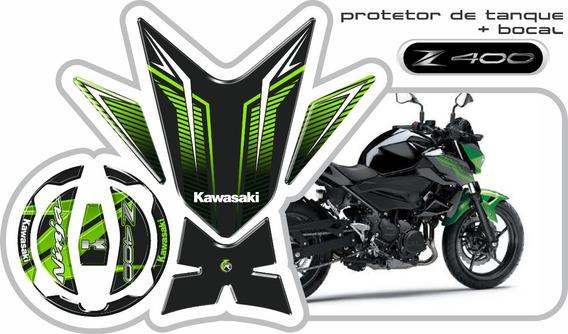 Protetor De Tanque Tankpad + Bocal Kawazaki Z400