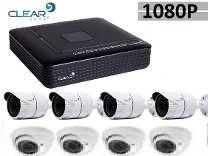 Kit Dvr 8 Ch 1080p Ate 5mp Com Hd 1000gb E 6 Cam 1080p Hik