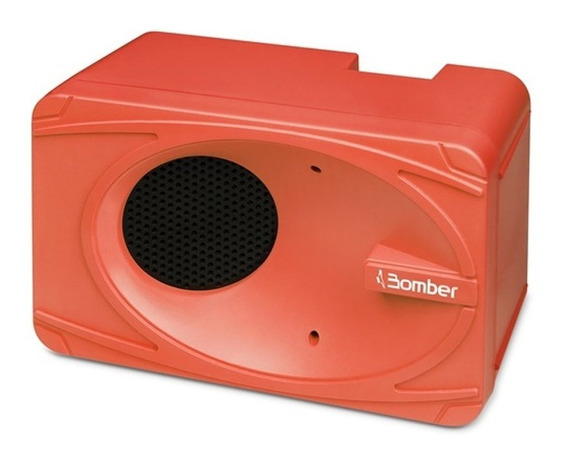 Caixa De Som Portátil Bluetooth My Bomber Laranja 1.92.006