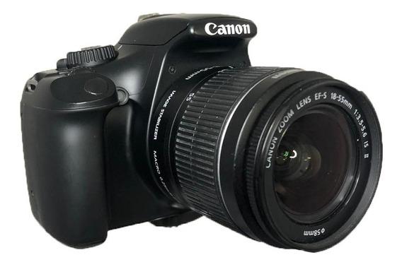 Camera Canon T3 Com Lente 18-55 Seminova Perfeita