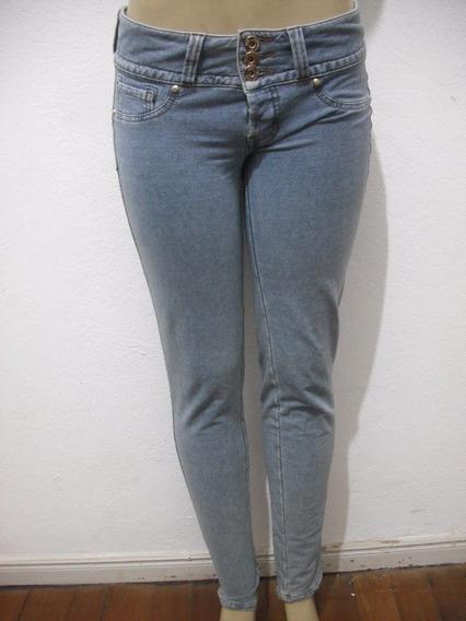 Calça Triton Imita Jeans Tam 42 Com Strech Usado Bom Estado