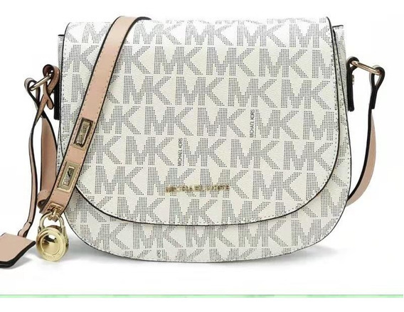 Bolsa De Luxo M K Large Hamilton Saffiano Leather Messenger