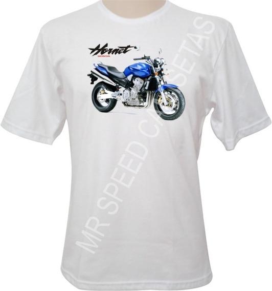 Camiseta Motocicleta Hornet Azul